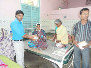 Food sponsorship to the deprived patients in India