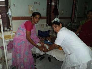 Ngo in AndhraPradesh SERUDS serving food sponsor