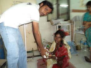 Medical health care Sponsorship to poor women
