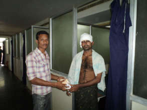 Food Material Donations to poor patients in india