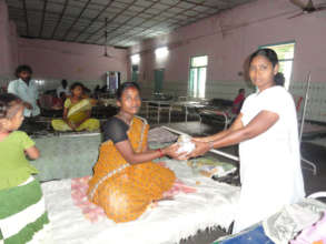 Donation of nutritious food items to the deprived