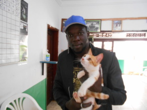 Kitty adopted on April 14