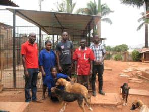 The Uganda SPCA Haven Team