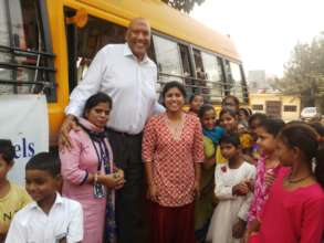 Sukarya Global Ambassadors visited Hoticamp slum