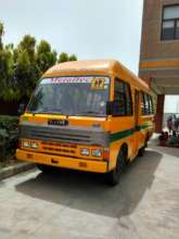 The new bus funded through GlobalGiving