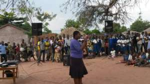 Anti FGM Advocacy work in the villages
