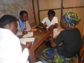 RECEADIT Community Health Care Team Visit of Mutef