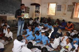 Teacher Padman's class observed during training