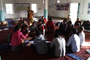 Teacher Training in progress