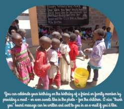 Sponsor-funded meals and sweets