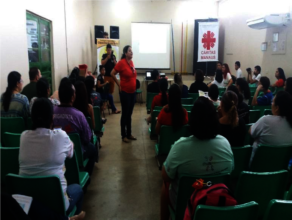 Meeting with teachers and parents