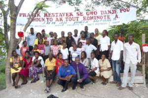 Organizing to end child slavery on Lagonav Island.