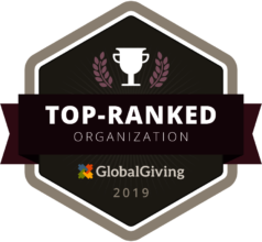 We've earned a Top-Ranking from Global Giving.