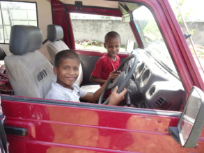 Boys in Birgunj wanting to learn how to drive