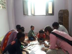 Activities at the Day Care Centre