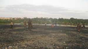 Football on the Dumpsite