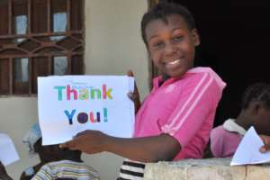 """On behalf of Chanini, """"Thank You"""" so much!"""