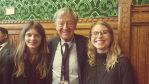 RRDP team & Lord Dubs at trafficking report launch