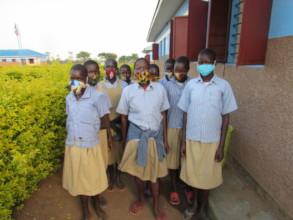 6th Grade Girls: Back to School Being Safe w/Masks