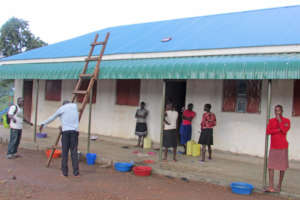New School Solar Panel Helps Girls Study at Night
