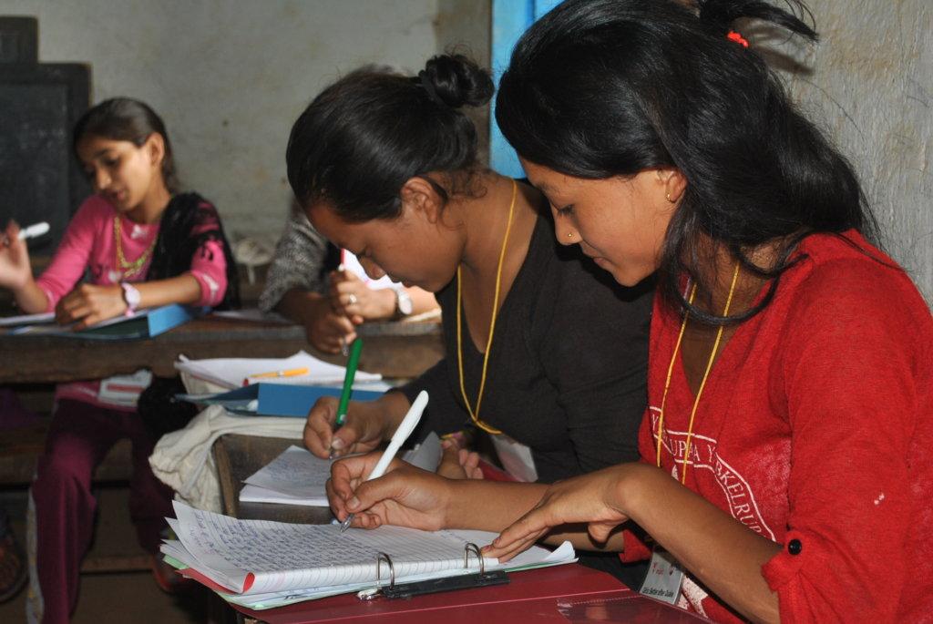 Girls: Better after quake