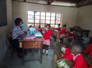 Pre-Primary Children in Class