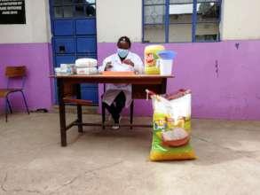 Food Distribution in Korogocho