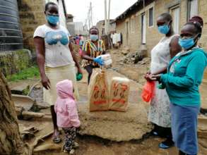 Food Distribution in Dandora