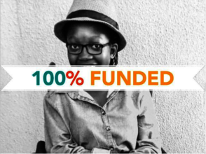 Ofentse's wheelchair is 100% Funded
