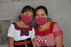 Bonnie, pictured with her daughter, Yamile
