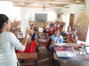 Menstrual Hygiene Education Training