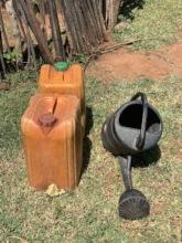 Farmers receive tools.