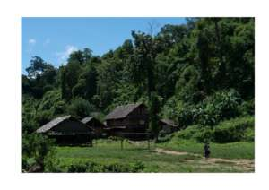 A camp for internally displaced people in Burma