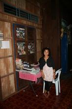 Pok showing us around the YAP tranistion house