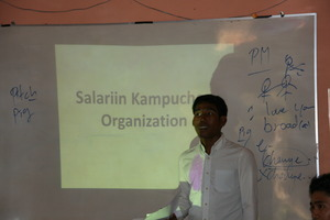 Life Skills Tutor at Salarrin Kampuchea