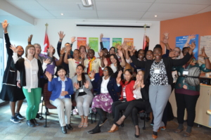 Women participants in training in Ottawa