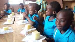 Kids Stitching Project