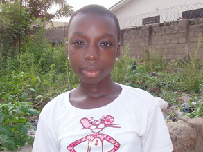 Abigail is able to attend primary school