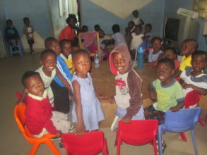 Some of Creche students