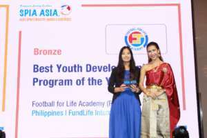 3rd place: Best Youth Development Programme