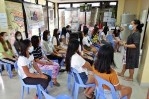 Community based session Sirao - Cebu