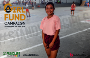 #StandWithGirls in the Philippines!