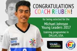 Congratulations to Coach Reuben!