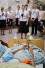 Victory Day concert in hospice