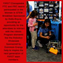 Women in STEM Robotics Showcase
