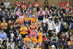 Excited spectators