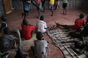 Play time in Kakuma
