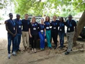 The medical mission with IsraAID Kenya's team