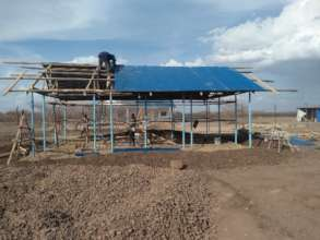 Building continues in Kalobeyei Settlement!