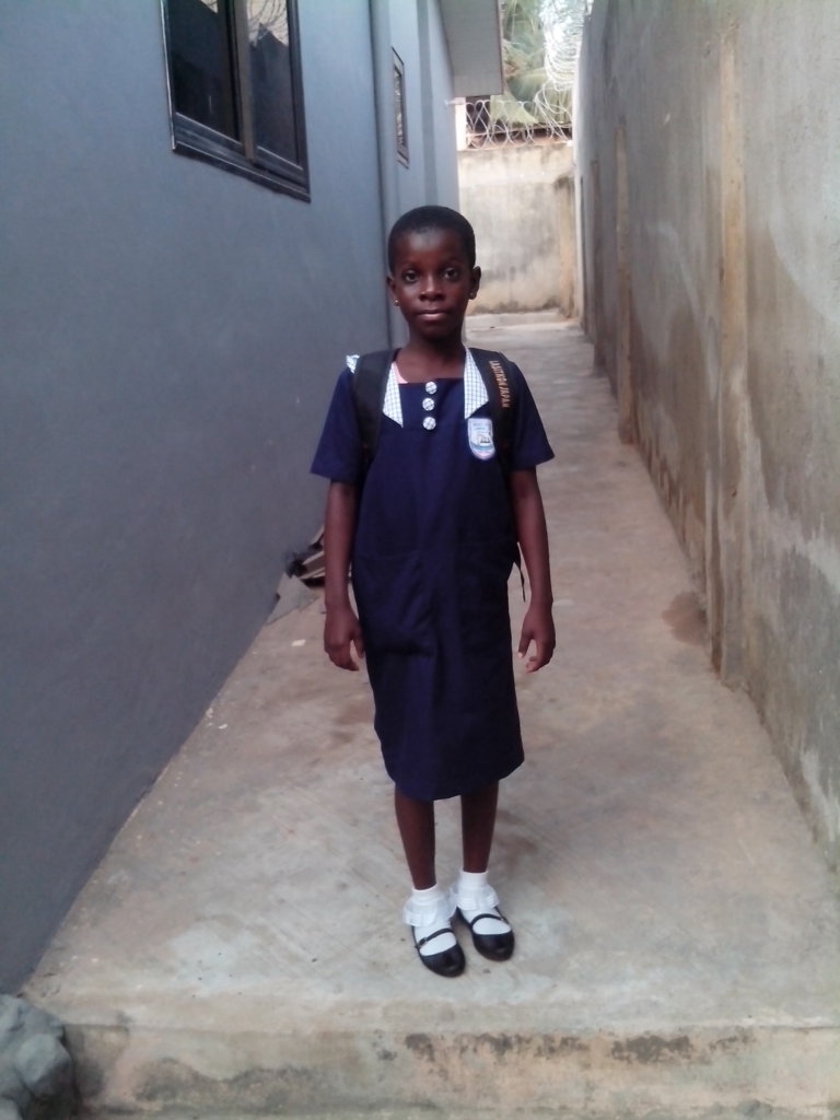 Orphan Sarah Needs Help to go School, Ghana